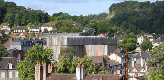 La Cité de la tapisserie dans la ville d'Aubusson