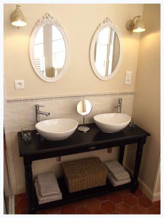 Saint-Nazaire-d'Aude, Fransa: Bathroom Leonie