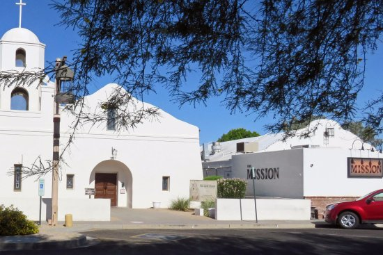 Mission Restaurant Next To Old Adobe Mission Picture Of