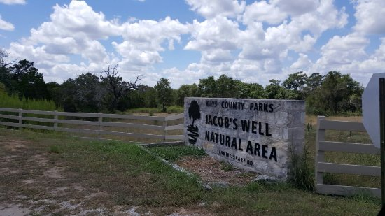 Wimberley, TX: Jacob's Well Natural Area-Hays County Parks