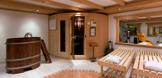 Spa with sauna and jacuzzi picture of hotel alpenrose