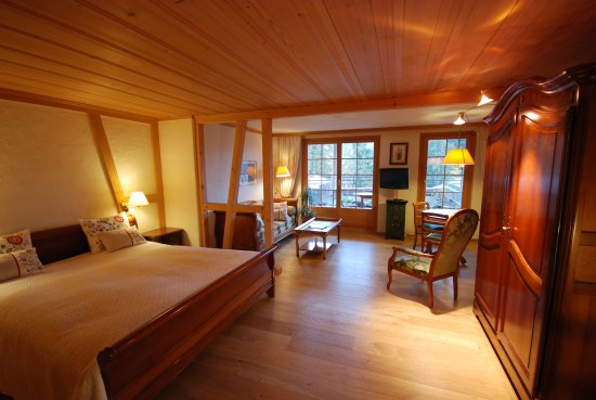 Schonried, Swiss: Large and quiet rooms to the South Side