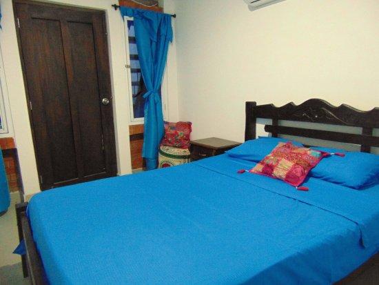 Santa Marta District, Colômbia: Habitaciòn doble con baño privado y A/C
