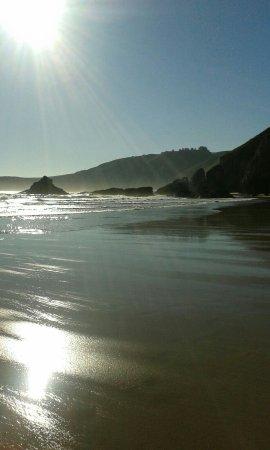 La Franca, Spanje: Una playa divino a escasos metros del camping