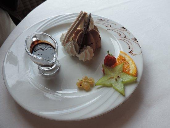Malbuisson, Prancis: parfait au chocolat