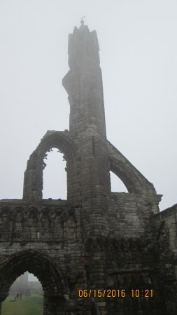 St Andrews Cathedral: Cathedral in the mist, number 2.