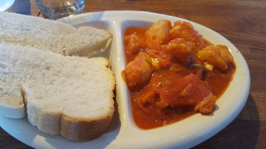 Charlestown, UK: fish pot, excellent