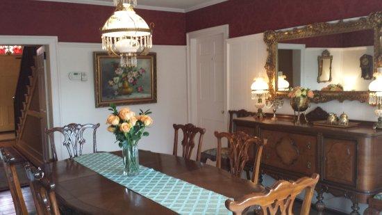 Historic Wilson-Guy House: Dining room