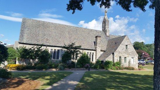 Lake Junaluska, Carolina del Norte: Gorgeous chapel!