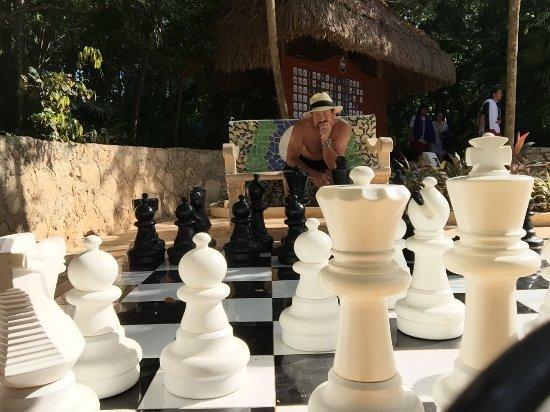 Iberostar Paraiso Beach Giant Outdoor Chess Set