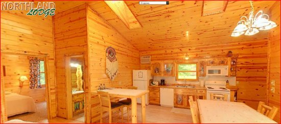 Walker, MN: Chippewa cabin - A family favorite cabin with its spacious layout, whirlpool tub, screened porch