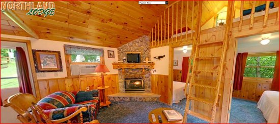 Walker, MN: Eagle's Nest - A cozy 2 bedroom cabin with a fun loft for the kids.