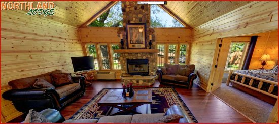 Walker, MN: Shoshone - New in 2015, this cabin is one of the most luxurious cabins in Minnesota. 3 bedroom 2