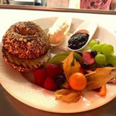 Courtenay, Canadá: Breakfast Bagel