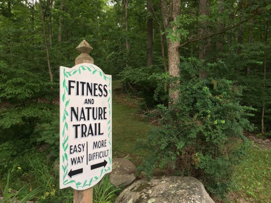 Cresco, PA: Nice little fitness trail