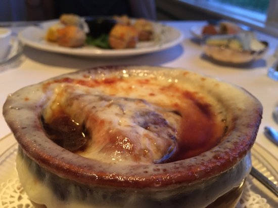 Cresco, PA: French Onion Soup!