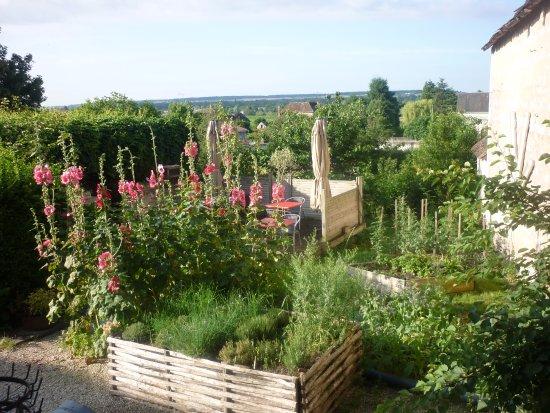 Crouzilles, Francia: Vue du jardin