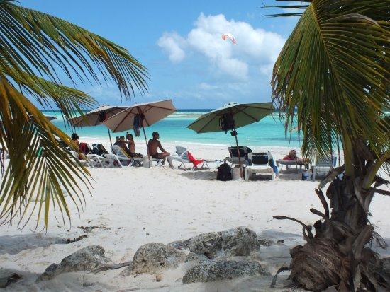 Worthing, Barbados: Praia linda