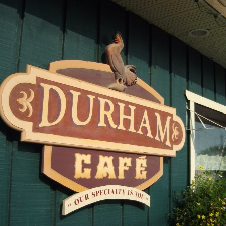 Durham Cafe: Join us on our patio