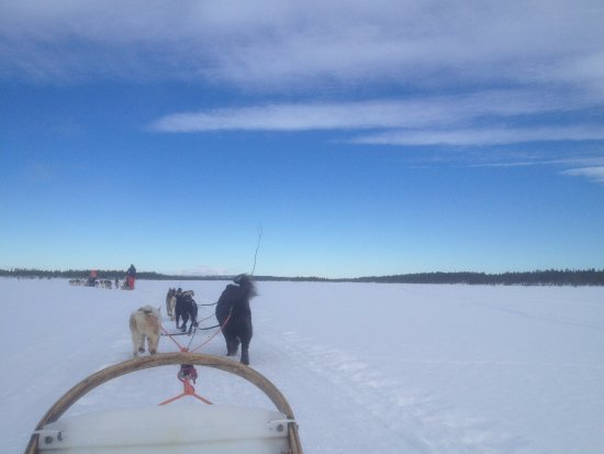 Enontekiö, ฟินแลนด์: In the middle of nowhere