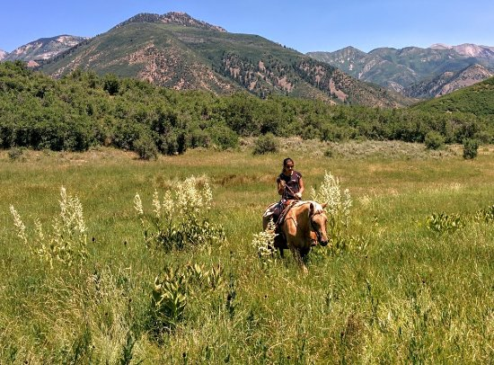 Crawford, CO: riding in the mountains