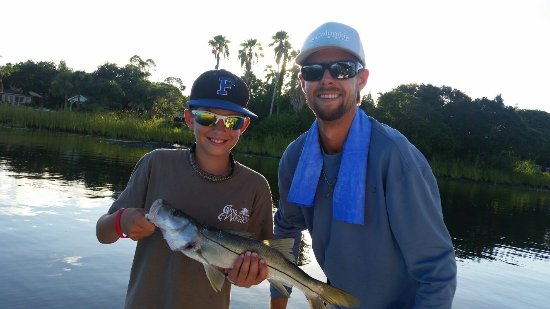 Holly Hill, FL: Awesome trip with Capt. Jeff!  He was great with the boys.