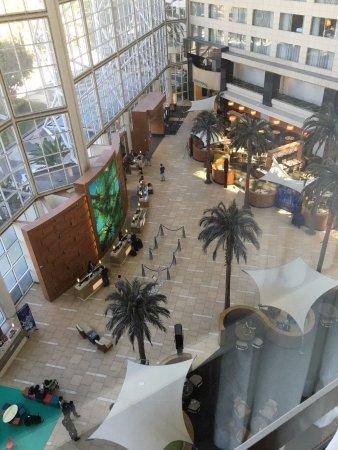 Hyatt Regency Orange County: View from Suite 557 in North Tower