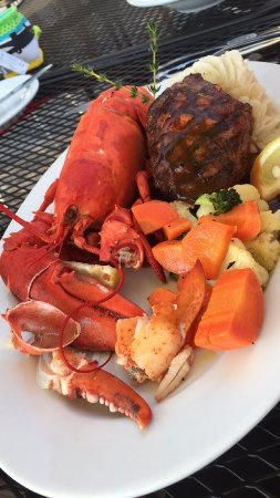 Georgetown, Καναδάς: Steak and Lobster