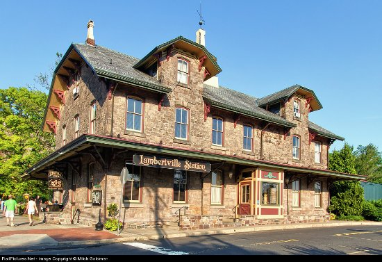 Historic Lambertville Station Restaurant