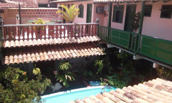 Hostel Villas Boas: Vista do segundo andar