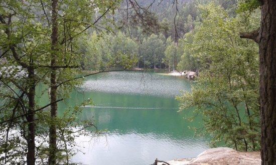 Hradec Kralove Region, República Checa: Pískovna - jezero
