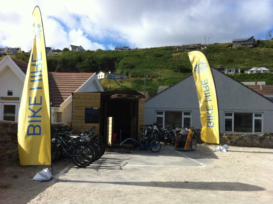‪‪Portreath‬, UK: Bike Hut at Portreath‬