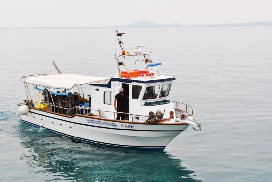 Katelios, Yunani: Join..and enjoy.. a fishing cruise!!