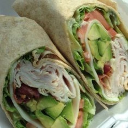 Lake Worth, Floride : Turkey Avocado Wrap