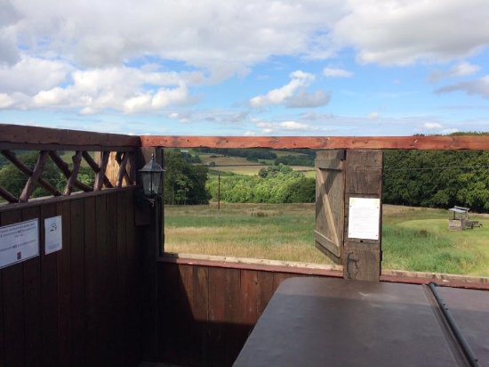 Stanley, UK: Beamish valley view