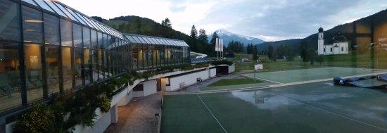 Olympia Sport: vanaf het dak terras