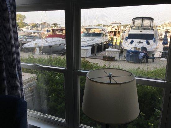 New Buffalo, MI: View from room 126