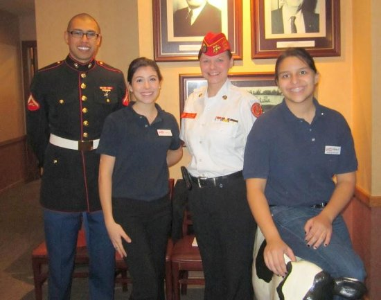 Colonial Ice Cream Restaurant: Meet a Marine at our kickoff event for Toys for Tots!