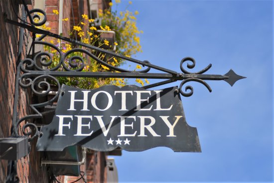 Hotel Fevery: sign