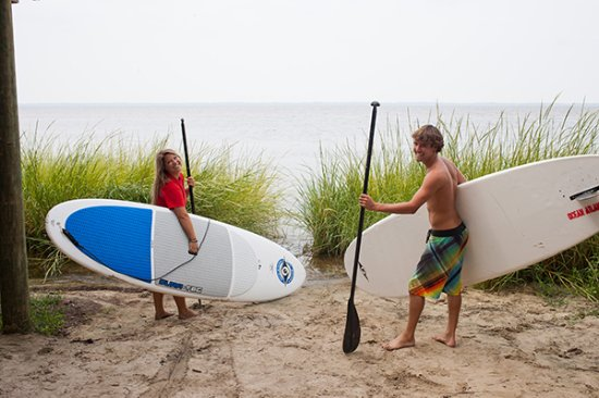 Kill Devil Hills, Carolina del Norte: Paddle the surf or the sound!