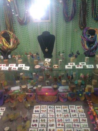 El Tabo, Chile: Artesanía de la feria