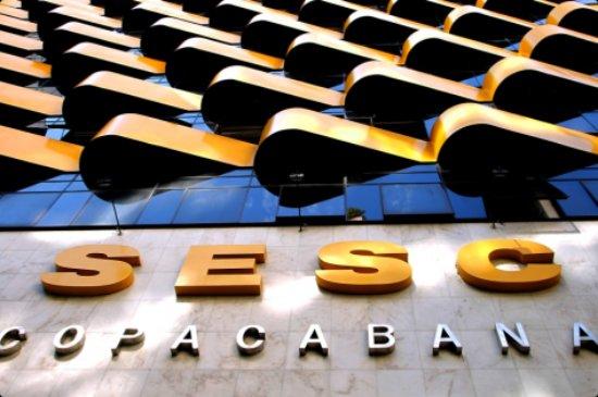Hotel Sesc Copacabana: Fachada Sesc Copacabana