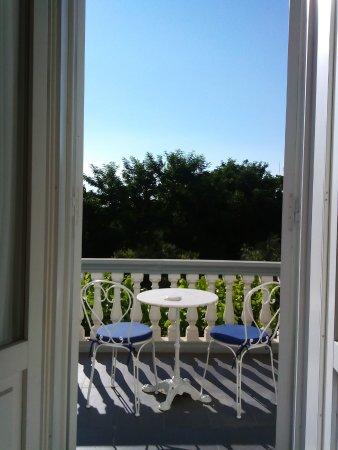 Hotel Alexander Palme: terrazzo della camera