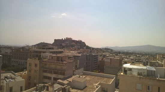 Amalia Hotel: View from the (360 degree) Roof