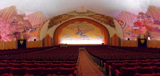 Catalina Island Casino: Avalon Theatre inside the Catalina Casino