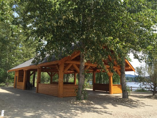 Scotch Creek, Canada: Gazebo Pavilion