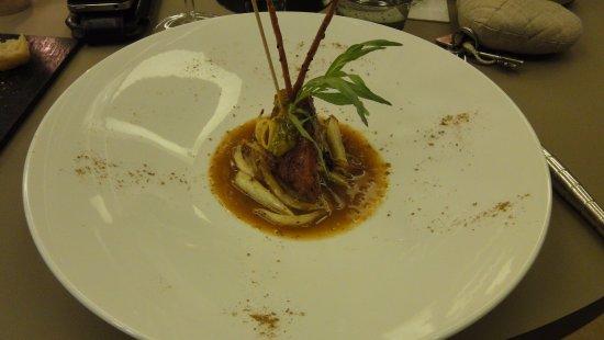Saint-Amour-Bellevue, ฝรั่งเศส: morceau de ris de veau