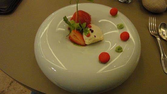 Saint-Amour-Bellevue, ฝรั่งเศส: dessert