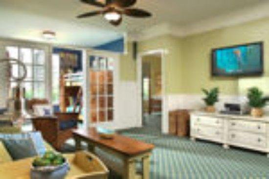 Calypso Cay Resort Villa Living Area