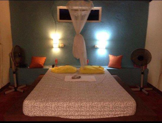 Las Penitas, Νικαράγουα: cama perfeita